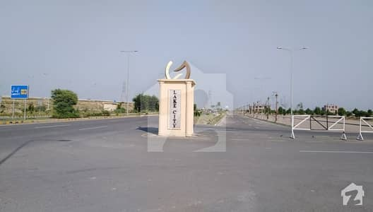 1 Kanal Plot For Sale In Lake City Sector M2