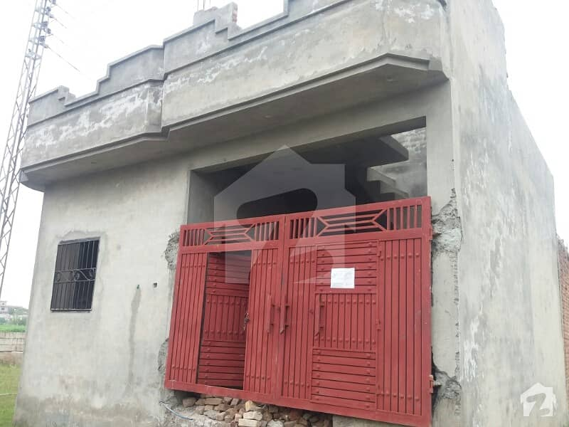 3 Marla Corner Structure House For Sale