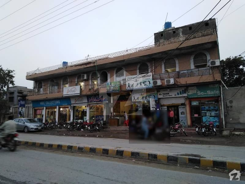 9 Marla Commercial Shop For Sale In Satellite Town Zafarullaha Chowk Sargodha