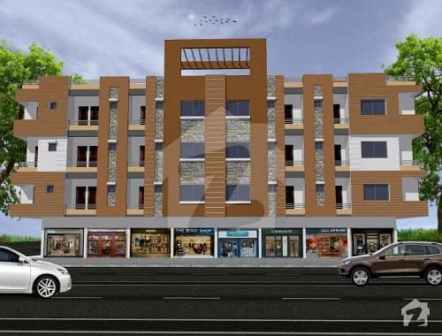 Well Build Flat Is Available For On Easy Installments In Surjani Town