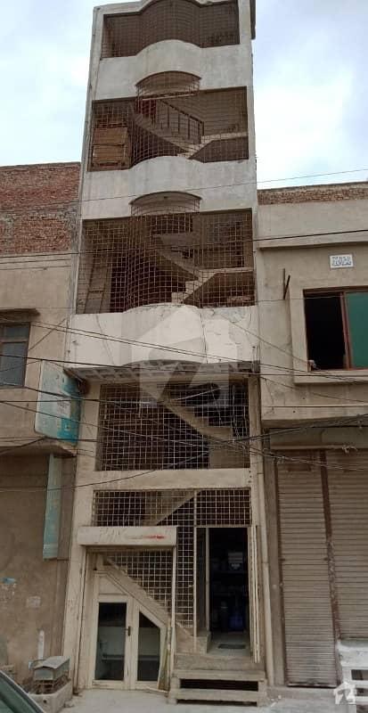 Commercial Building in Mahar Sadiq Market Railway Road Faisalabad
