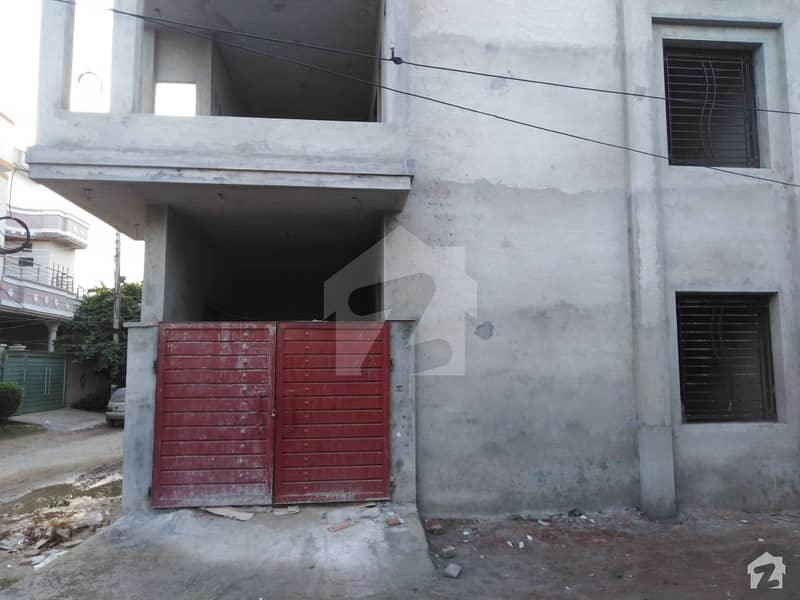 3.5 Marla Corner Double Storey House For Sale