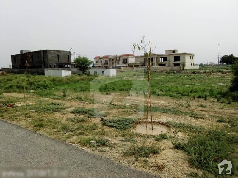 Plot No 619 Phase 8 - 1 Kanal Plot For Sale Beautiful Location Peaceful Environments