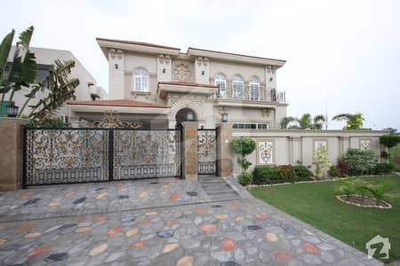 One Kanal Brand New Spanish Bungalow For Sale Near DHA Office And Sports Complex In Phase 6