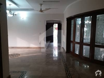 Dha Phase 1 Sector C - Corner Ground Portion Is Available For Rent With Separate Gate