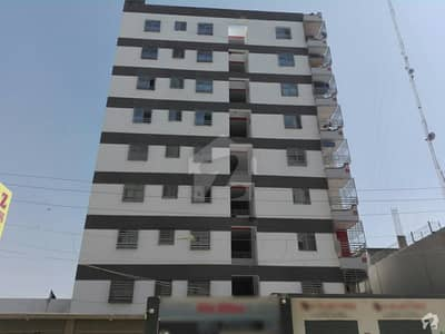 Al Ghafoor Sky Tower Flat Is Available For Sale On Good Location