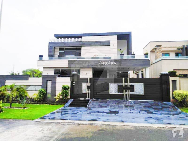 Syed Brothers 22 Marla Brand New Modern Design Bungalow For Sale