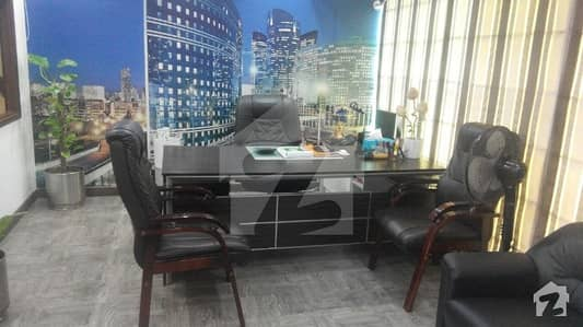 VIP Fully Furnished Office For Rent With Lift Front Entrance With Chamber Work Station
