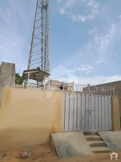 100 Sq Yards Plot For Sale Mobile Tower Installed