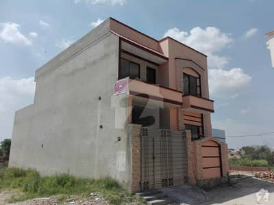Double Storey House Is Available For Sale In Lalazar Colony