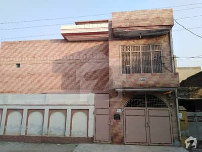 28 Marla Double Storey House Is Available For Sale In New Satellite Town Block X Street M Sargodha