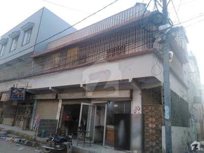 Double Storey House With Shops Available For Sale