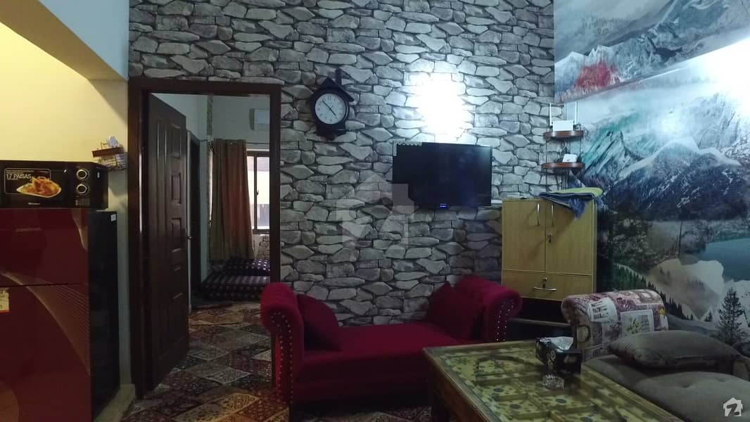 One Bed Furnished Apartment is Available For Sale In Defence Residency Dha Phase 2 Islamabad