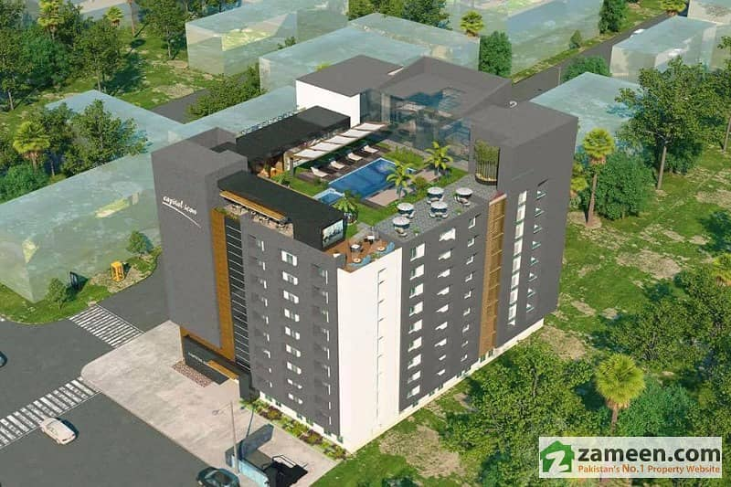 Capital Icon Islamabad One Bed Apartments On Easy Installments
