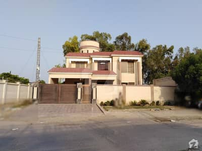 1 Kanal Corner Double Storey House For Sale