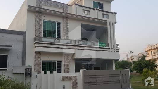 7 Marla New Corner House in CBR Town Islamabad
