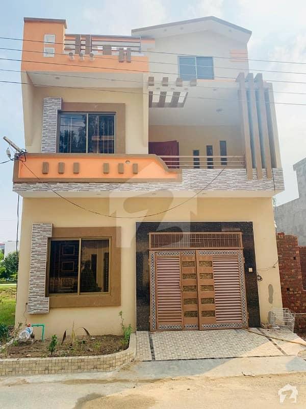 3 Marla Double Storey Beautiful House For Sale In Kamran Block Sa Gardens