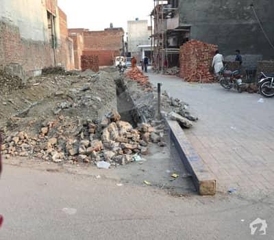 فیروزپور روڈ لاہور میں 1 مرلہ کمرشل پلاٹ 34 لاکھ میں برائے فروخت۔