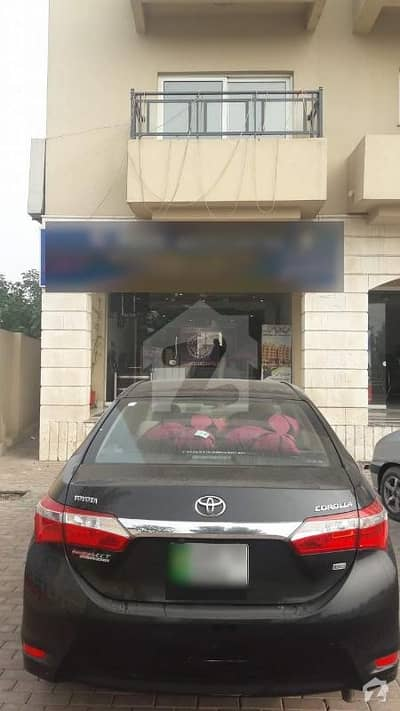 Facing Canal 620 Sq Feet Corner Shop For Sale T In Bahria Town Sector D Canal Heights