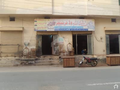 Double Storey Beautiful Corner Commercial Building For Sale At Fateh Town Okara