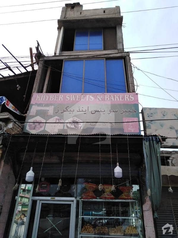 3 Storey 1.5 Marla Shop For Sale At Main Road In  University Town