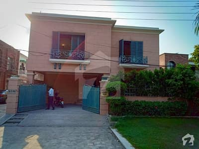 Safe Peaceful Secure 12 Marla Out Class Bungalow For Rent on Main Sarwar Road Cantt Lahore