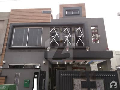 7.5 Marla Brand New Stunning Designer House For Sale In Sector B Bahria Town Lahore