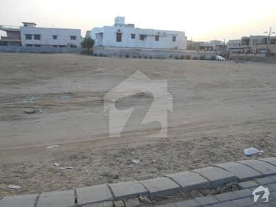 500 Yards Corner West Open Khayaban-E-Badban Residential Plot For Sale