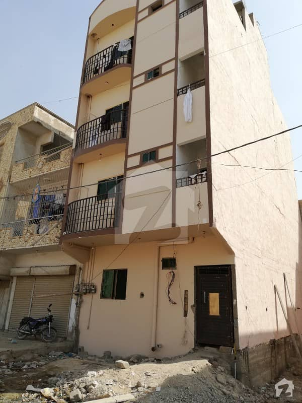 Flat Available For Sale With Roof