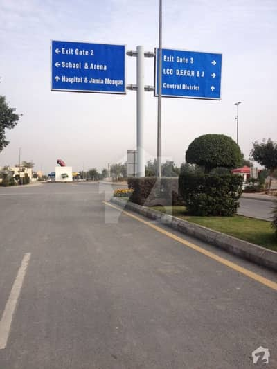Main Boulevard 5 Marla Pair Commercial Plot Located In Central District Fully Commercial Zone Bank Square Market 175 Lac Each