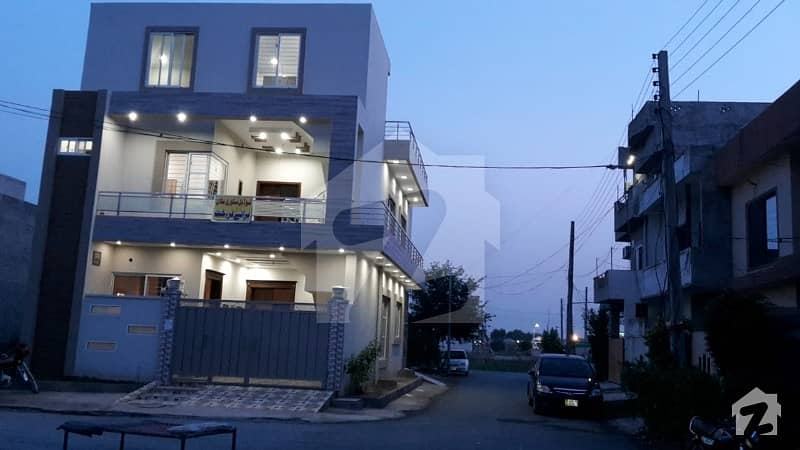5 Marla Most Beautiful Double Storey House For Sale In Muhafiz Town Phase 2