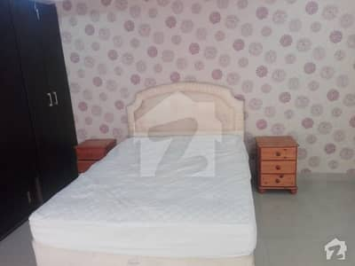 Bahria Town Fully Furnished 2 Bed Rooms Corner Flat For Sale