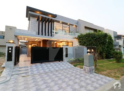 10 Marla Brand New Mazhar Munir Design with Basement Bungalow For Sale Hot Location