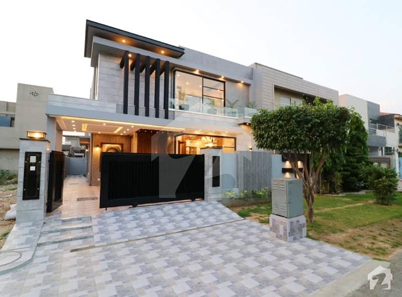 10 Marla Brand New Mazhar Munir Design with Basement Bungalow For Sale Hot Location