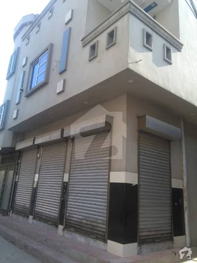 Corner Semi Commercial Brand New Double Storey 3 shops House Is Available For Sale