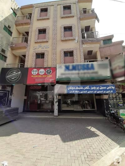 4 Marla Commercial 2 Side Open Plaza No F 20  Rental Income 2 Lac 40 Thousand