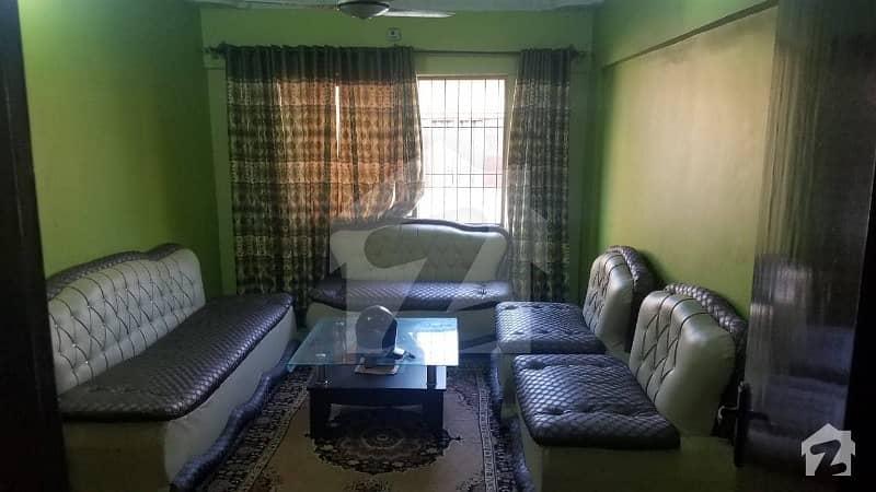 3 Bed DD 4th Floor Flat for sale in FB Area Aisha Manzil Abbas Square