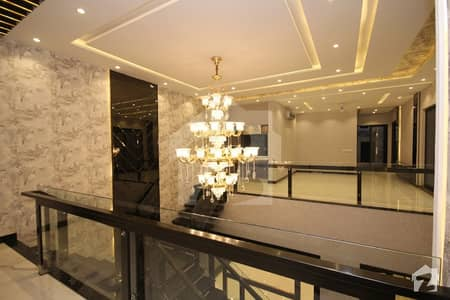 10 Marla Brand New Double Unit Luxury House  Straight Line Bungalow For Sale Near To Park Masjid And Market