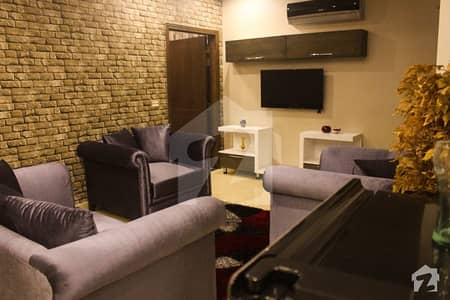 1 BED 620 SQ FEET BRAND NEW FULLY FURNISHED LUXURY APPARTMENT FOR RENT IN SECTOR C NEAR TALWAR CHOWK BAHRIA TOWN LAHORE