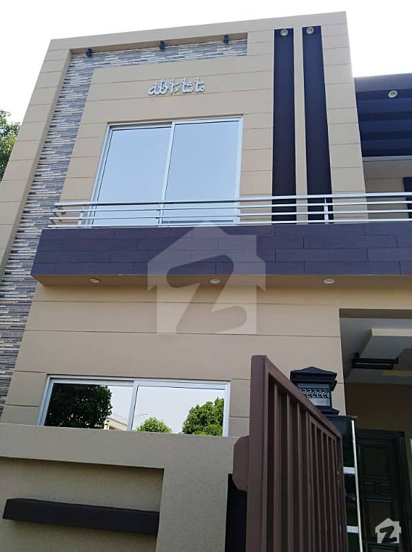 5 Marla Brand New Triple Storey House For Sale