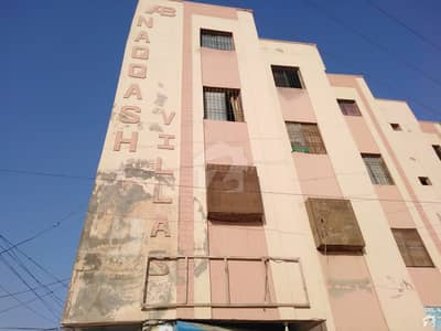 Nqash Vellas By Pass Qasimabad 720 Sq Feet 3rd Floor Flat For Sale