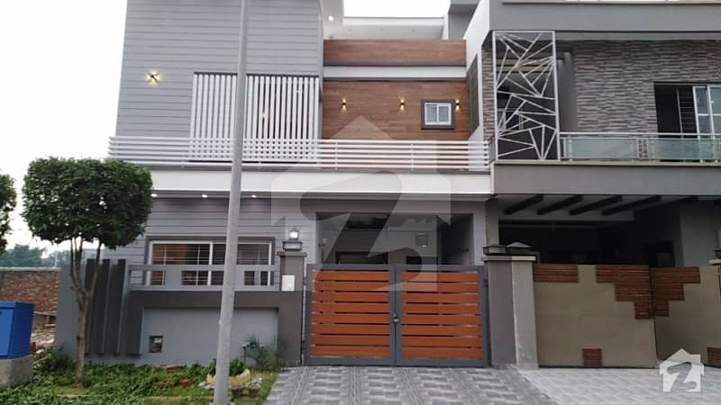 5 Marla Brand New House For Sale In A Block Of Dream Gardens Phase 1 Lahore