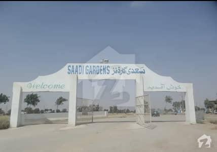 240 Sq Yards Residential Plot For Sale In Saadi Garden Block 4