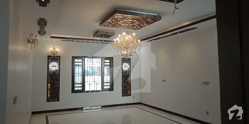 Heart Of Block Amazing Environment Beautiful Locality Educated People Brand New Full Lavish Architect Designed Owner Extra Ordinary 400 Sq Yard House Available For Sale