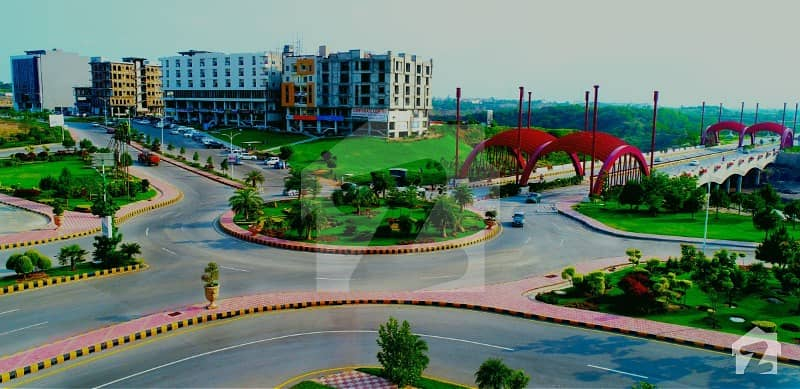 10 Marla Park Face Plot Available For Sale In Block A Gulberg Residencia Islamabad