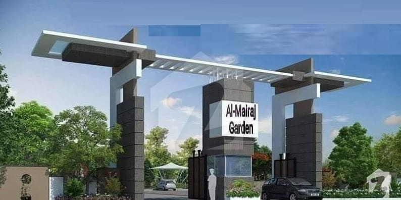 Al Mairaj Garden Islamabad 10 Marla Corner Plot For Sale On Installments