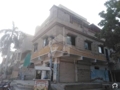 بفر زون - سیکٹر 15-A / 4 بفر زون نارتھ کراچی کراچی میں 6 کمروں کا 6 مرلہ مکان 2.1 کروڑ میں برائے فروخت۔