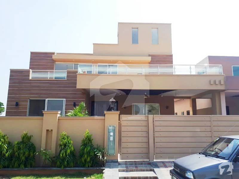 Syed Brothers Fully Basement 20 Marla Brand New Bungalow For Sale Outclass Location