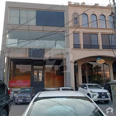 8 Marla Corner Excellent Location Lavish Full Plaza For Sale And Rent Option Avail  In DHA Phase 3 Lahore