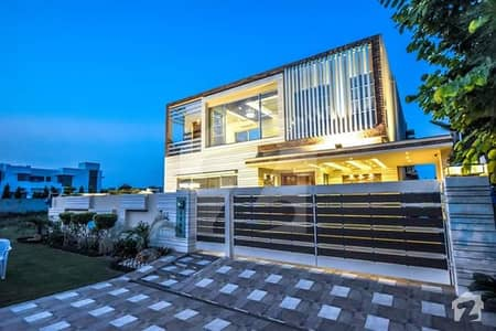 Spectacular Brand New 1 Kanal House Is For Sale With Well Finishing